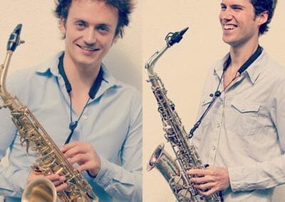 Artiest in de kijker: The Sax Guys